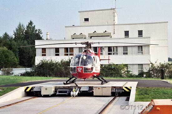 Der Heliport entspricht bereits den aktuellen JAR-OPS-Richtlinien