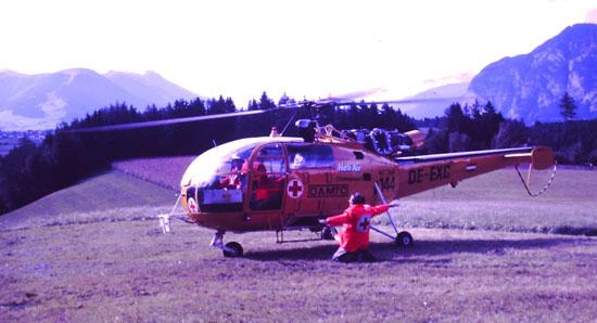... dieser Hubschraubertyp ist insbesondere für seine guten Flugleistungen im Gebirge bekannt