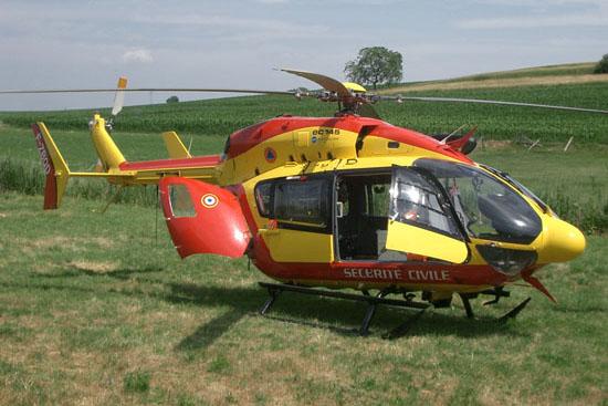 Bereits seit 2004 wird eine Eurocopter EC 145 eingesetzt