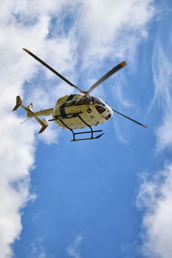 Bereits seit 2006 wird am Standort in Bra der Hubschrauber vom Typ EC 145 eingesetzt