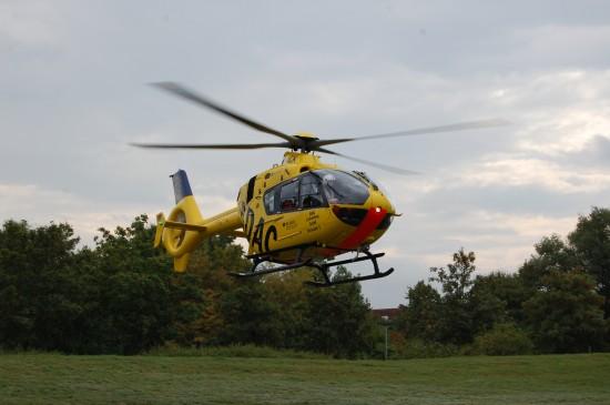 """Immer wieder wurde die Einsatzmaschine des RTH """"Christoph 5"""" zu Einsätzen alarmiert"""