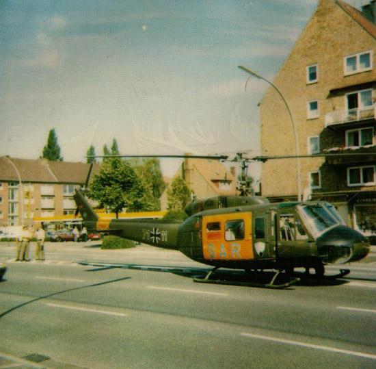 Der Großteil der Einsatzflüge wurden und werden im Stadtgebiet Hamburgs absolviert. Schon früh gewöhnten sich die Hamburger an den Hubschrauber als Verkehrsteilnehmer