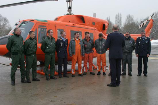 """Am 19. Januar 2006 ging eine Ära zu Ende: Die Luftwaffe zog sich aus dem Betrieb des """"SAR 71"""" zurück und die Station wurde flugbetrieblich an die damalige Bundespolizei-Fliegerstaffel Nord übergeben"""