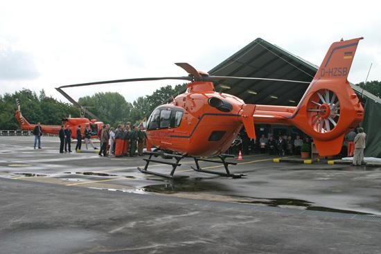 Am 4. Juli 2007 ersetzte eine fabrikneue EC 135 T2i die bewährte Bell 212. Damit verschwand auch das charakteristische Fluggeräusch über Hamburg