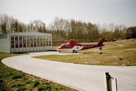 2002 konnte dann ein festes Hangargebäude seiner Bestimmung übergeben werden