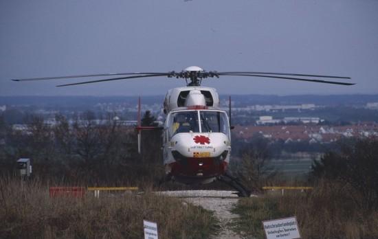 Der Regensburger ITH im Jahr 2000 einsatzbereit am Standort