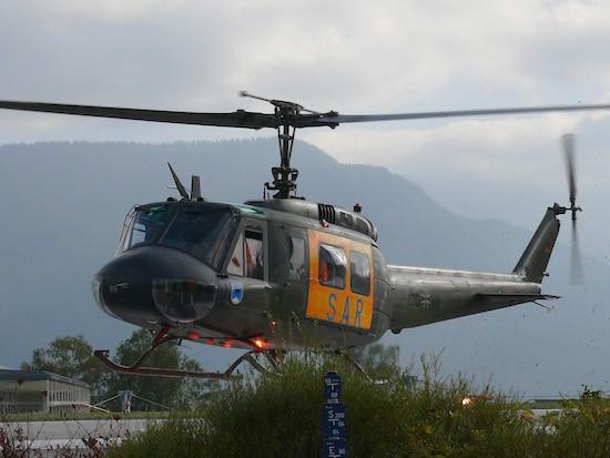 """SAR 56"" an der Unfallklinik Murnau"