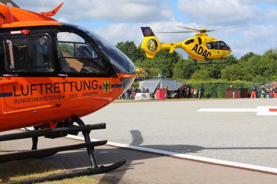 Erneuter Einsatz für die Luftrettung in Hamburg