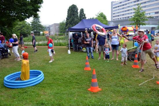 """Spiel und Spaß: Beides kam beim 10. """"Tag der Sicherheit"""" am Klinikum Links der Weser nicht zu kurz"""