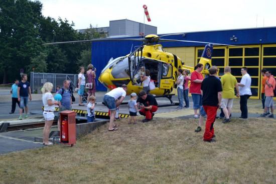 """Für den am Klinikum Links der Weser stationierten RTH """"Christoph 6"""" galt das Gleiche"""
