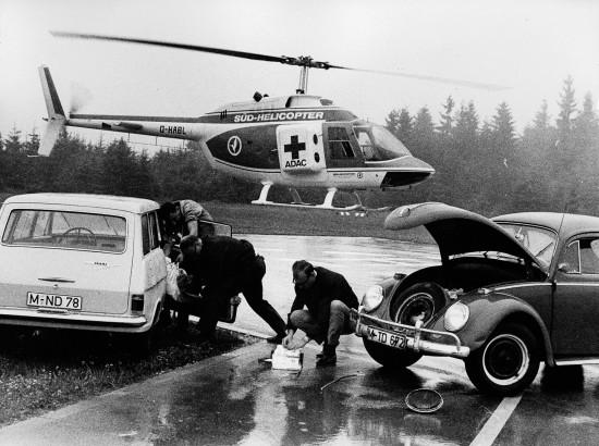 """Unter dem Funkrufnamen """"Kolibri"""" startete die gecharterte Maschine in den zwei Testjahren zu Einsätzen in Südbayern"""