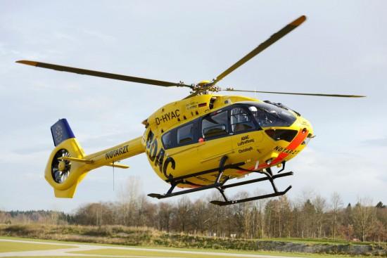 """Am Krankenhaus Harlaching in München wird bereits seit einigen Tagen die H145 mit der Kennung """"D-HYAC"""" eingesetzt (rth.info berichtete)"""