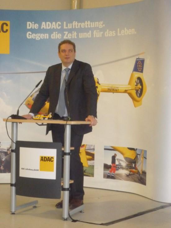 Rede von Frèdèric Bruder, Geschäftsführung ADAC Luftrettung gGmbH