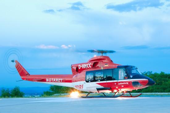 Rund 25 Jahre lang im Einsatz für Menschenleben - die Bell 412 in der deutschen Luftrettung.