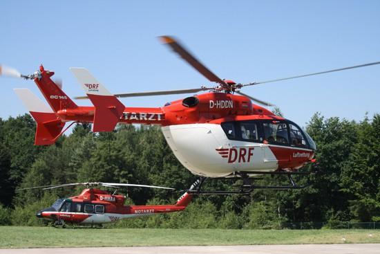 Ende einer Ära: Die letzte Bell 412-Station in Bad Berka tauscht auf eine EC 145.