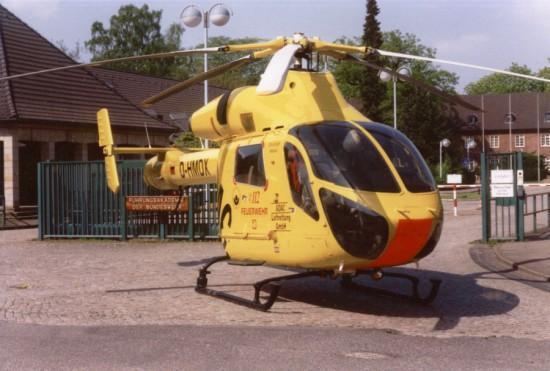 MD 900 Explorer bei der ADAC Luftrettung