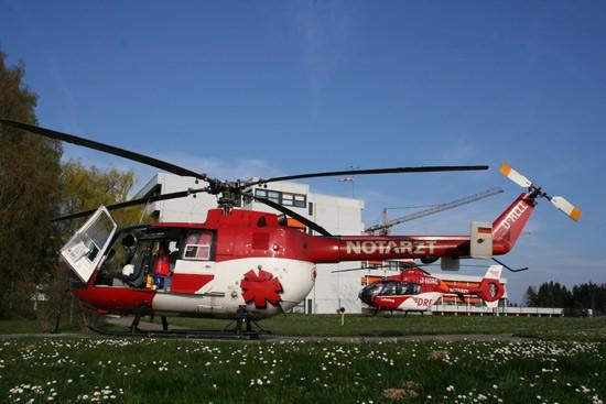 In Friedrichshafen wurde im April 2009 die BO 105 durch die neue EC 135 abgelöst