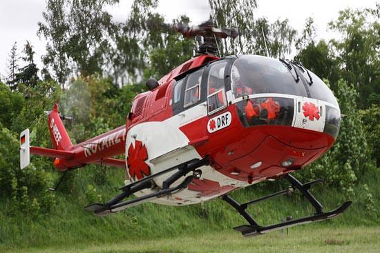 Mit dem Fly-Out in Zwickau endete im Juli 2009 die Ära der BO 105 in der bundesdeutschen Luftrettung