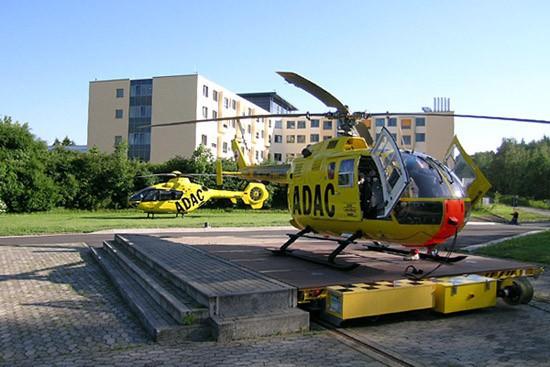 Im Oktober 2006 stand in Uelzen der Wechsel von der BO 105 zur EC 135 an