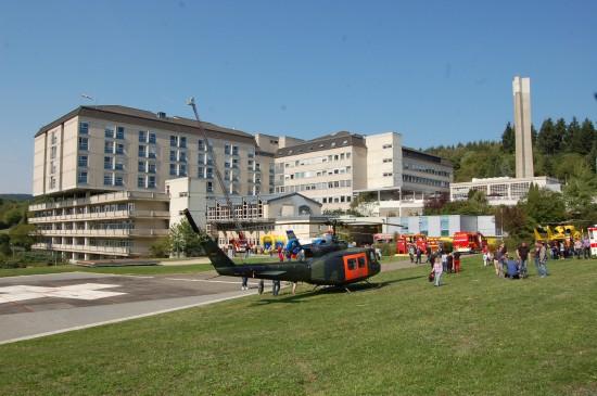 """Vor zwei Jahren gab es einen Tag der offenen Tür anlässlich des Doppeljubiläums """"40 Jahre St. Elisabeth-Krankenhaus & Luftrettung in Wittlich"""""""