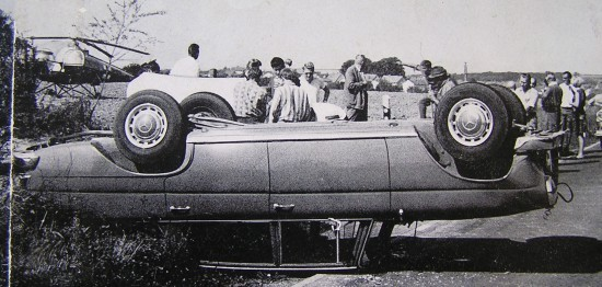 Verkehrsunfälle standen im Fokus des Feldversuchs vom Sommer 1967