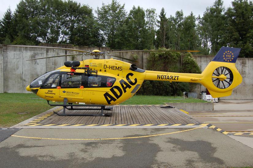 Die im September 2014 als erste H145 an den ADAC übergebene D-HEMS ist Stamm-Maschine an der ADAC-Luftrettungsstation in Murnau
