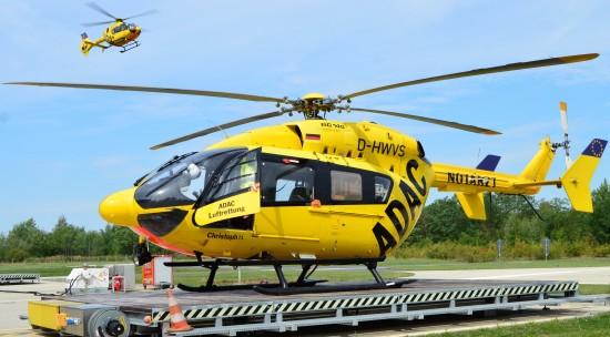 In Senftenberg wurde die langjährige Stamm-Maschine D-HWVS bereits im Jahr 2016 durch eine hochmoderne H145 abgelöst
