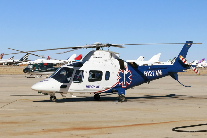 """""""Mercy Air 14"""" am Mojave Air and Space Port"""