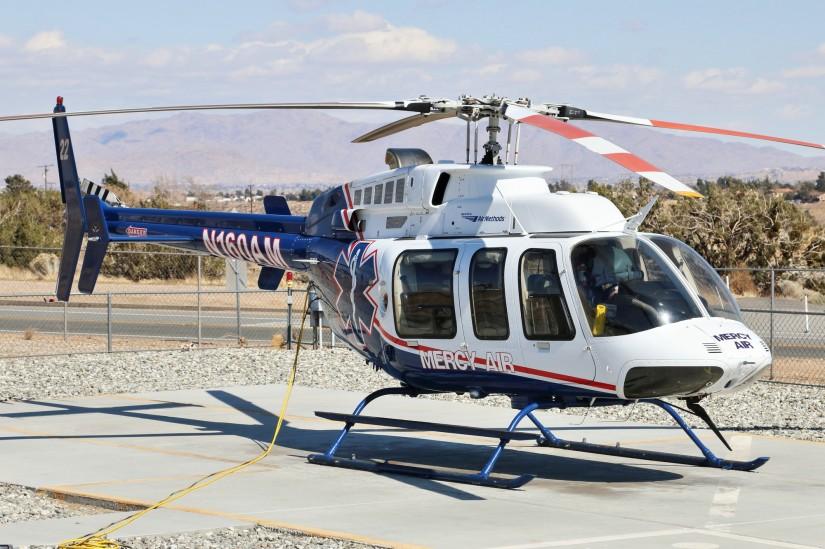 """""""Mercy Air 22"""", eine Bell 407"""