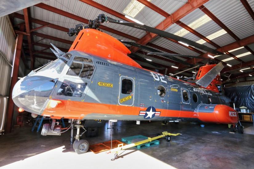 Bei den Marines im SAR-Einsatz gewesen: HH-46E Sea Knight