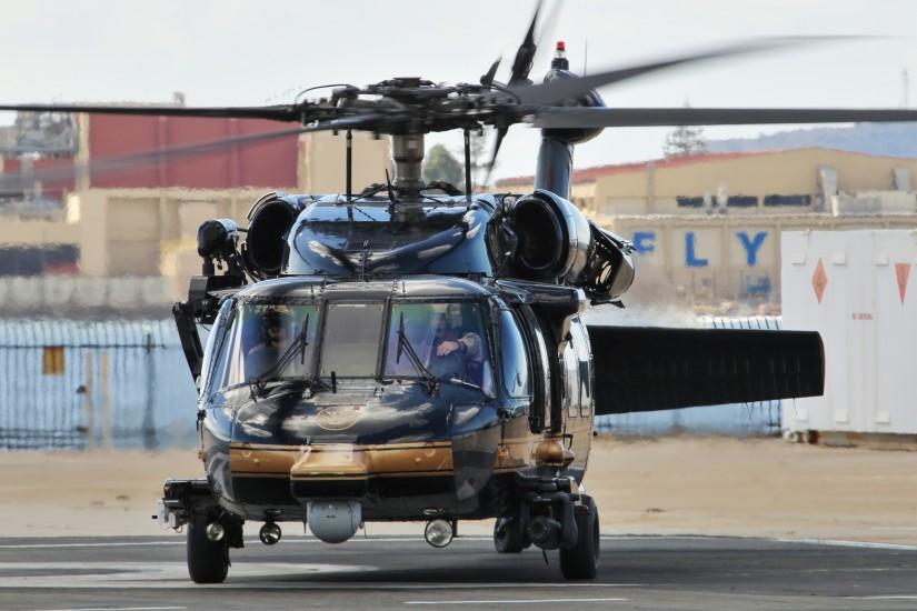 Eine UH-60A zu Besuch bei der USCG Air Station San Diego
