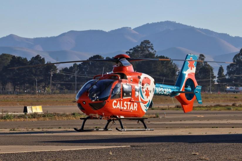 """Calstar 7"" am Santa Maria Airport"