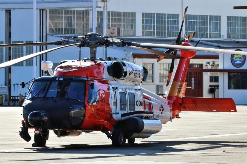 MH-60T Jay Hawk 6014 von der Air Station San Diego