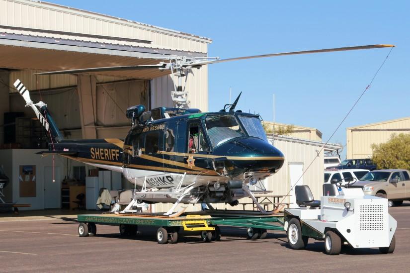 """""""Air 3"""", eine zur """"Super Huey"""" aufgerüstete Bell UH-1H"""