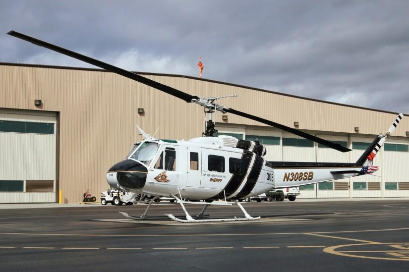 Das SBSD nutzt mehrere Hueys für Rettungseinsätze