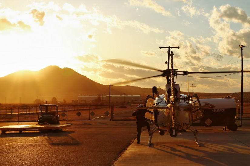 """A-Star im kalifornischen """"Golden Sunset"""" in Apple Valley"""