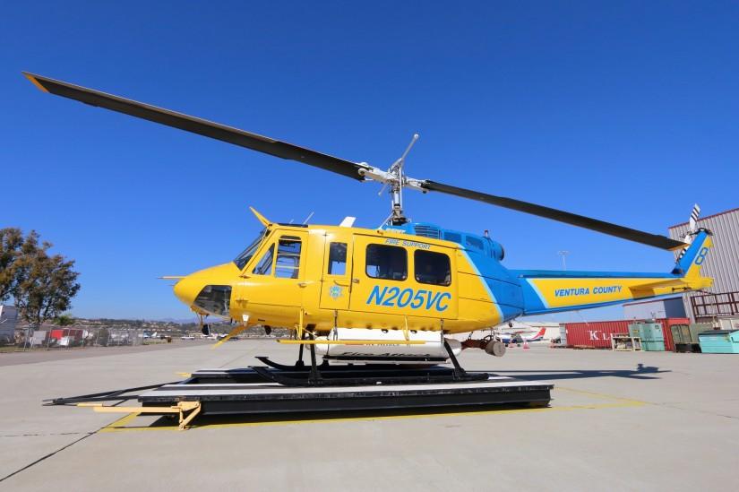 Die N205VC wurde ursprünglich als Bell 205A-1 gebaut und später zu einer der sehr seltenen Bell 205B umgebaut. Sehr aufgeräumt wirken sowohl Kabine als auch das Cockpit der 205B?