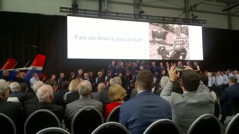 """René Closter hielt einen reich bebilderten Vortrag über """"30 Jahre Luxembourg Air Rescue"""""""
