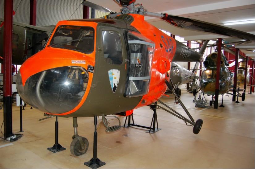 Mit dem SAR-Hubschrauber des Musters Bristol Sycamore B-171 begann die Luftrettung in Friesland (hier eine Aufnahme aus dem Hubschraubermuseum in Bückeburg)