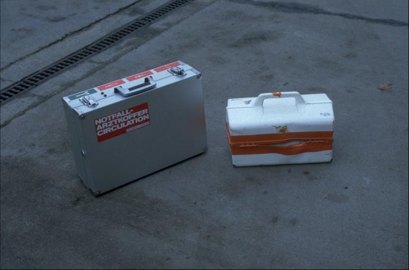 Erhebliche Unterschiede in der notfallmedizinischen Ausstattung: Notfallkoffer Ost-West