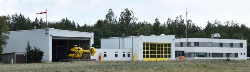 Die Luftrettungsstation Senftenberg ist seit Mitte 1994 eine der wenigen Doppelstützpunkte in Deutschland
