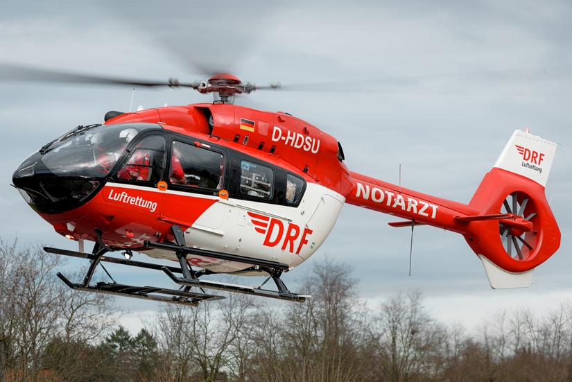 Ohne vom Land dazu beauftragt worden zu sein, stattete die DRF Luftrettung ihre neue H145 an ihrer Station Freiburg mit einer Rettungswinde aus