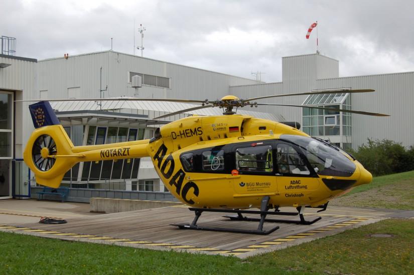 """""""Christoph Murnau"""" war der erste Standort der ADAC Luftrettung, der auf H145 umgestellt hat"""