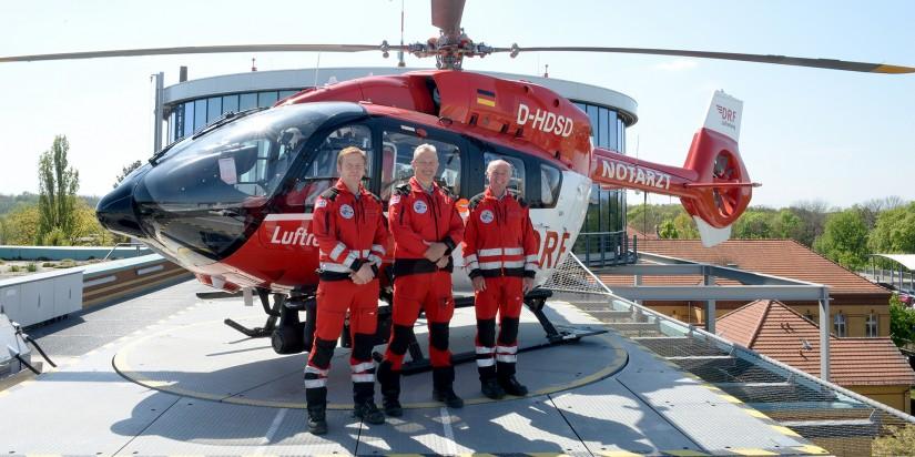 Am UKB ist nun eine H145 stationiert – bei ADAC und DRF Luftrettung DER Intensivtransporthubschrauber schlechthin