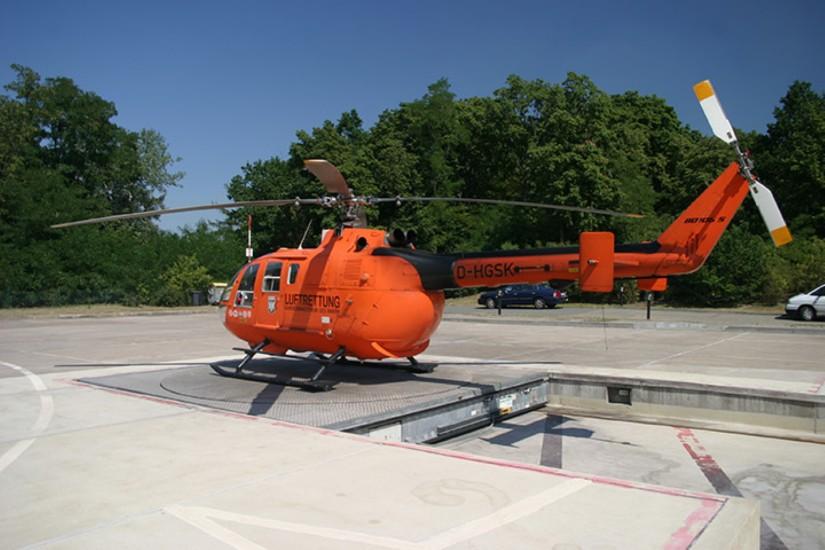 """""""Christoph 35"""": Der Bell UH-1D folgte eine BO 105 CBS-5"""