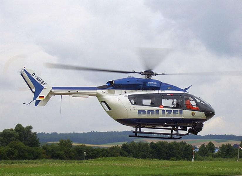 Die PHuSt Hessen setzt auf die EC 145 (hier ist eine der Maschinen noch mit Werkskennung zu sehen)