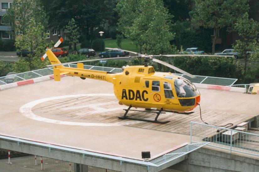 1984 wurde vom ADAC in Fulda eine BO 105 CBS-4 in Dienst gestellt