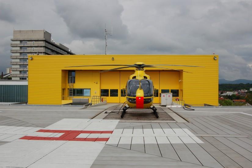 """Seit 2002 fliegt in Fulda eine EC 135 als """"Christoph 28"""""""