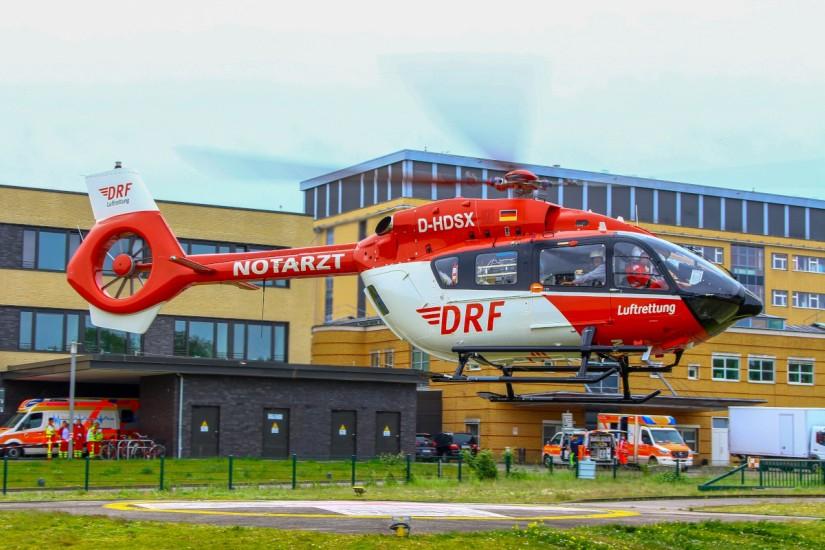 Seit April 2020 fliegt in Greifswald eine H145 – seit Anfang August 2020 sogar rund um die Uhr