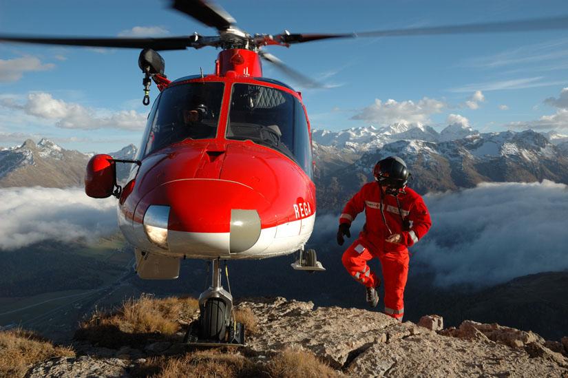 A109, hier eine Maschine der Schweizer REGA
